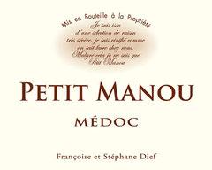 2015 PETIT MANOU Médoc, Lea & Sandeman