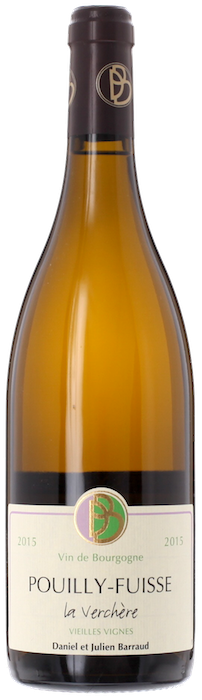2015 POUILLY FUISSÉ Vieilles Vignes La Verchère Domaine Daniel Barraud, Lea & Sandeman