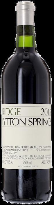 2015 RIDGE Lytton Springs Ridge Vineyards, Lea & Sandeman