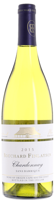 2015 SANS BARRIQUE Chardonnay Bouchard Finlayson, Lea & Sandeman