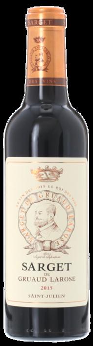 2015 SARGET DE GRUAUD LAROSE du Château Gruaud Larose Saint Julien, Lea & Sandeman