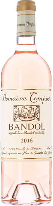 2016 BANDOL Rosé Domaine Tempier, Lea & Sandeman
