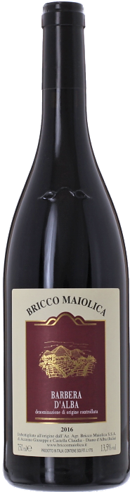 2016 BARBERA D'ALBA Bricco Maiolica, Lea & Sandeman
