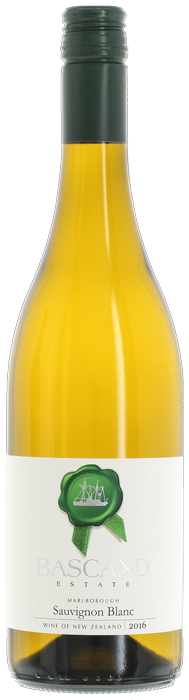 2016 BASCAND ESTATE WAIPARA SPRINGS Sauvignon Blanc, Lea & Sandeman