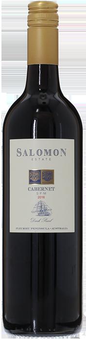 2016 CABERNET SAUVIGNON Dark Pearl Fleurieu Salomon Estate, Lea & Sandeman