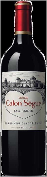 2015 CHÂTEAU CALON SÉGUR 3ème Cru Classé Saint Estèphe, Lea & Sandeman