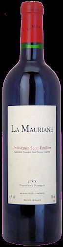 2015 CHÂTEAU LA MAURIANE Puisseguin Saint Emilion, Lea & Sandeman