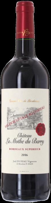 2016 CHÂTEAU LA MOTHE DU BARRY Bordeaux Supérieur, Lea & Sandeman