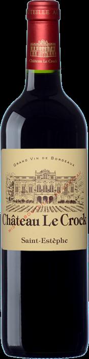 2016 CHÂTEAU LE CROCK Cru Bourgeois Supérieur Saint Estèphe, Lea & Sandeman