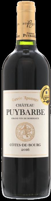2016 CHÂTEAU PUYBARBE Cuvée Apanage Côtes de Bourg, Lea & Sandeman