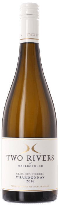 2016 CLOS DES PIERRES Chardonnay Two Rivers of Marlborough, Lea & Sandeman