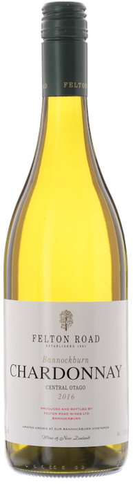 2016 FELTON ROAD  Bannockburn Chardonnay, Lea & Sandeman
