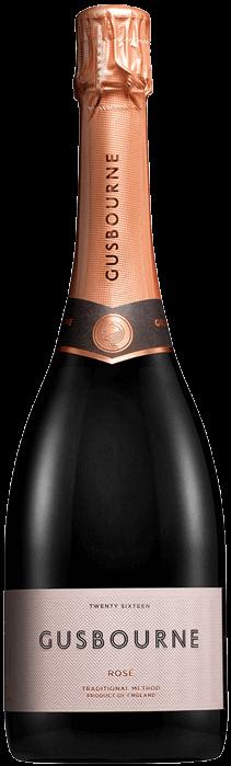 2016 GUSBOURNE Rosé Brut English Sparkling Wine, Lea & Sandeman