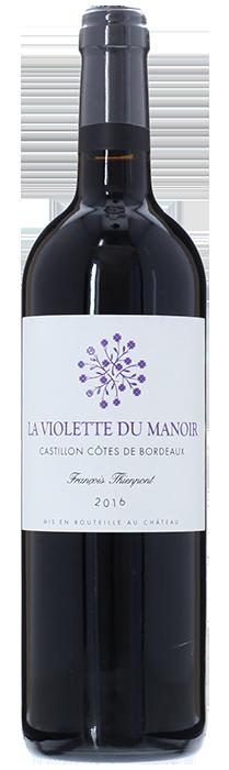 2016 LA VIOLETTE DU MANOIR Côtes de Castillon Château Manoir du Gravoux, Lea & Sandeman