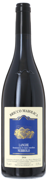 2016 LANGHE NEBBIOLO Bricco Maiolica, Lea & Sandeman
