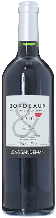 2016 LEA & SANDEMAN Bordeaux, Lea & Sandeman