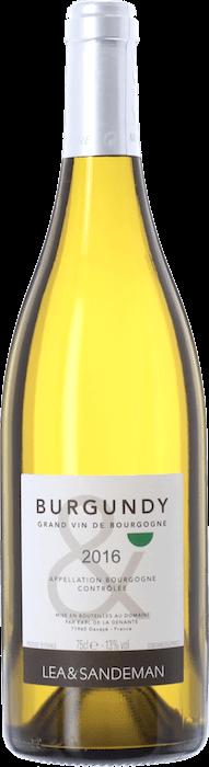 2016 LEA & SANDEMAN White Burgundy Bourgogne Blanc, Lea & Sandeman