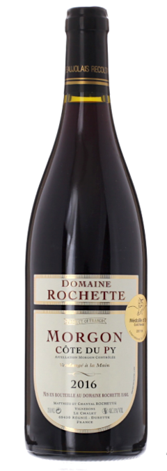 2016 MORGON Côte de Py Domaine Rochette, Lea & Sandeman