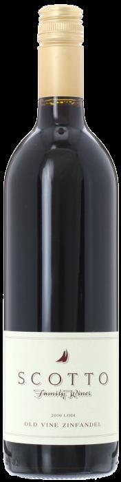 2016 OLD VINE ZINFANDEL Scotto Family Vineyards, Lea & Sandeman