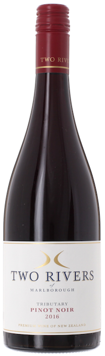 2016 PINOT NOIR Tributary Two Rivers of Marlborough, Lea & Sandeman