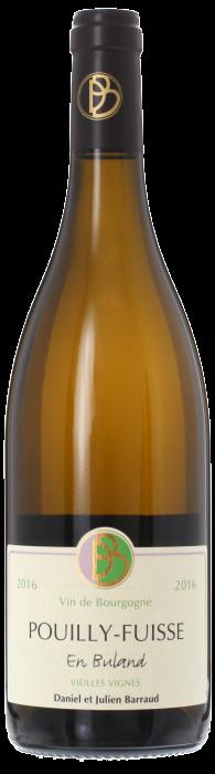 2016 POUILLY FUISSÉ Vieilles Vignes En Buland Domaine Daniel Barraud, Lea & Sandeman