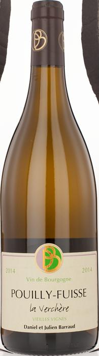 2016 POUILLY FUISSÉ Vieilles Vignes La Verchère Domaine Daniel Barraud, Lea & Sandeman
