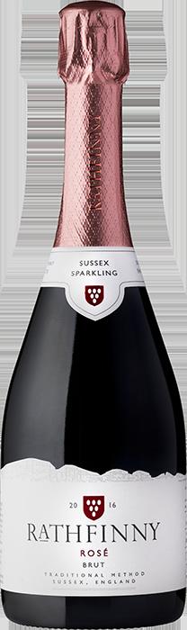 2016 RATHFINNY Rosé Brut English Sparkling Wine, Lea & Sandeman