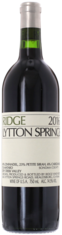 2016 RIDGE Lytton Springs Ridge Vineyards