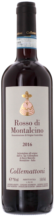 2016 ROSSO DI MONTALCINO Collemattoni, Lea & Sandeman