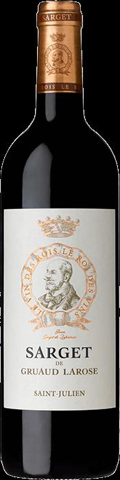 2016 SARGET DE GRUAUD LAROSE du Château Gruaud Larose Saint Julien, Lea & Sandeman