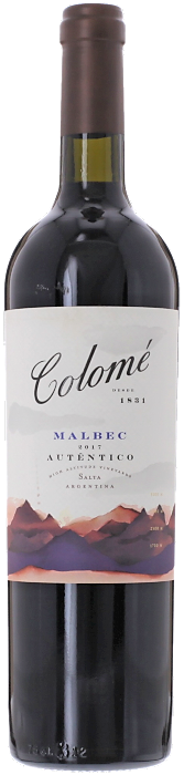 2017 AUTÉNTICO MALBEC Bodega Colomé, Lea & Sandeman
