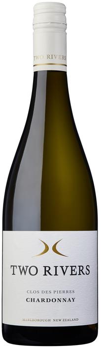 2017 CLOS DES PIERRES Chardonnay Two Rivers of Marlborough, Lea & Sandeman