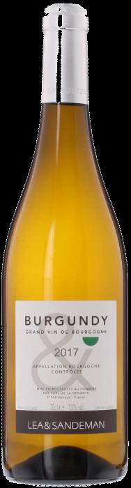 2017 LEA & SANDEMAN White Burgundy Bourgogne Blanc, Lea & Sandeman