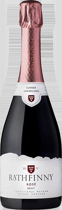 2017 RATHFINNY Rosé Brut English Sparkling Wine, Lea & Sandeman