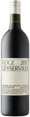2017 RIDGE Geyserville Ridge Vineyards, Lea & Sandeman