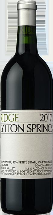 2017 RIDGE Lytton Springs Ridge Vineyards, Lea & Sandeman