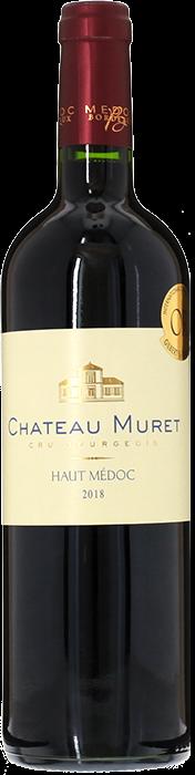 2018 CHÂTEAU MURET Cru Bourgeois Haut Médoc, Lea & Sandeman
