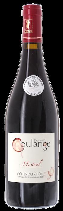 2018 CÔTES DU RHÔNE Rouge Cuvée Mistral Domaine Coulange, Lea & Sandeman