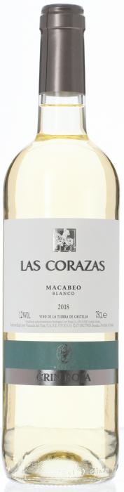 2018 MACABEO Las Corazas Bodegas Roqueta, Lea & Sandeman