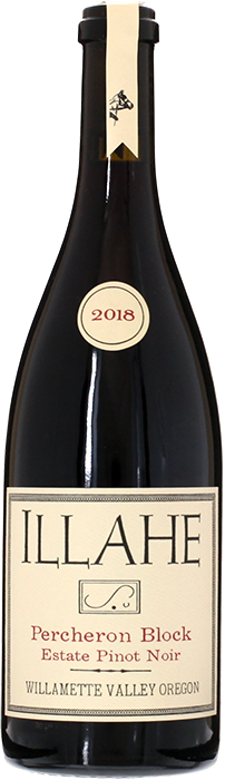 2018 PINOT NOIR Percheron Block Willamette Valley Illahe Vineyards, Lea & Sandeman