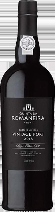 2018 QUINTA DA ROMANEIRA Vintage Port, Lea & Sandeman
