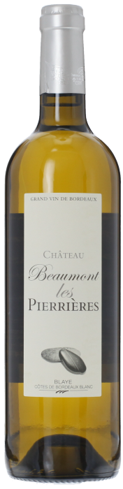 2019 CHÂTEAU BEAUMONT Blanc 'Les Pierrières' Blaye, Lea & Sandeman