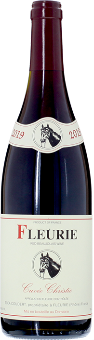 2019 FLEURIE Cuvée Christie Clos de La Roilette, Lea & Sandeman