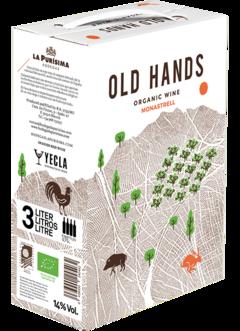 2019 OLD HANDS Monastrell Ecológico Bodegas La Purisima, Lea & Sandeman