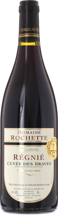 2019 RÉGNIÉ Cuvée des Braves Domaine Rochette, Lea & Sandeman