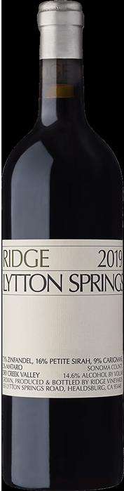 2019 RIDGE Lytton Springs Ridge Vineyards, Lea & Sandeman