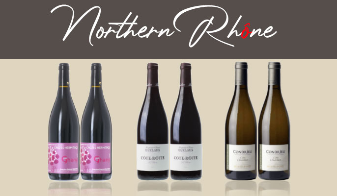 NORTHERN RHÔNE MIXED CASE (6 BOTTLES), Lea & Sandeman