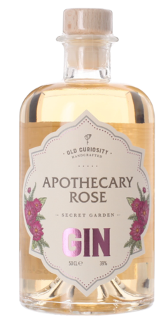 APOTHECARY ROSE GIN The Old Curiosity Distillery, Lea & Sandeman