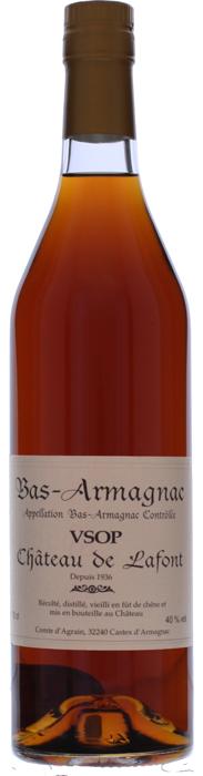ARMAGNAC VSOP Château Lafont, Lea & Sandeman