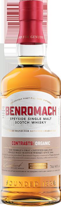 BENROMACH ORGANIC SINGLE MALT Gordon & MacPhail, Lea & Sandeman